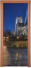 Haustür Dekor Charmante Aussicht Notre Dame De