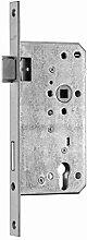 Haustür-Einsteckschloss, Dornmaß 50 mm,