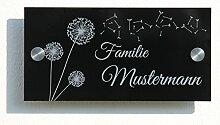 Haustürschild 20x10 cm Türschild Namensschild
