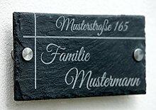 Haustürschild 20x15 cm Türschild Namensschild