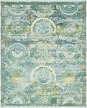 Havana Bereich Teppich, hellblau, 8 x 10