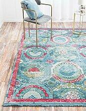 Havana Bereich Teppich, türkis, 8 x 10