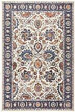havatex Klassischer Teppich Vera Blumen - Beige