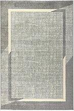 havatex Moderner Teppich Style Frame - Grau oder
