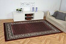 Havatex: Orient Teppich Excellsior Klassisch rot / Prüfsiegel: Öko-Tex / Flormaterial: 100% PP Friese / In verschiedenen Größen erhältlich