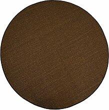 Havatex: Sisal Teppich Trumpf braun rund / Geprüfte Qualität / Flormaterial: 100 % Sisal / In verschiedenen Größen erhältlich