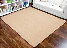 havatex: Sisal Teppich Trumpf tabak / Geprüfte Qualität / Flormaterial: 100 % Sisal / In verschiedenen Größen erhältlich, Größe Auswählen:100 x 400 cm