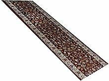 havatex: Teppich Läufer Excellsior rot / Prüfsiegel: Öko-Tex / Flormaterial: 100% PP Friese / In verschiedenen Größen erhältlich , Größe Auswählen:67 x 450 cm
