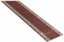 Havatex: Teppich Läufer Klassiko Grafisch rot / Prüfsiegel: Öko-Tex / Flormaterial: 100 % PP Heatset / In verschiedenen Größen erhältlich