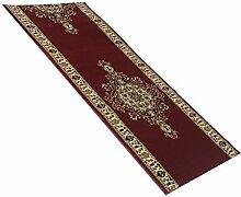 Havatex: Teppich Läufer Marokko Bilder rot / Prüfsiegel: Öko-Tex / Flormaterial: 100 % PP Heatset / In verschiedenen Größen erhältlich