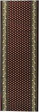 Havatex: Teppich Läufer Marokko Klassisch rot / Prüfsiegel: Öko-Tex / Flormaterial: 100 % PP Heatset / In verschiedenen Größen erhältlich