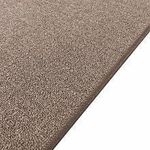Havatex: Teppich Schlingen Läufer Turbo cognac / Geprüfte Qualität / Flormaterial 100% Polypropylen / In verschiedenen Größen erhältlich