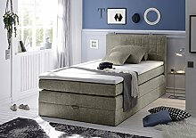 HAWAII 2 Boxspring 120 Soro 91 schlamm