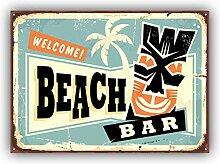 Hawaii Beach Bar Advertising - Self-Adhesive
