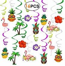 Hawaii Party Deko Kindergeburtstag Girlanden 16