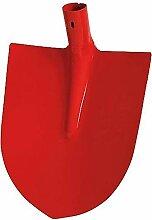 HaWe Robuste Frankfurter Schaufel, Rot,