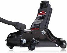 Hawk Tools 2Tonnen Low Profile Race Race Auto Garage Boden Aluminium Service Wagenheber hydraulisch