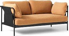 Hay Can Sofa 2-Sitzer Frame Schwarz Linara 142 (b)