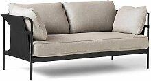 Hay Can Sofa 2-Sitzer Frame Schwarz Roden 04 (b)