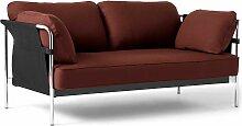 Hay Can Sofa 2-Sitzer Frame Verchromter Stahl