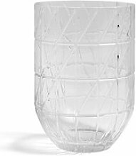 HAY - Colour Vase Glasvase, L, transparent