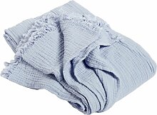 Hay Crinkle Tagesdecke Hellblau (l) 270.00 X (b) 270.00 Cm