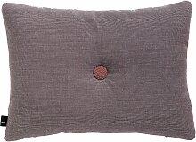 Hay Dot Cushion Surface Kissen Greyish Burgund (l) 60 X (b) 45 Cm