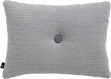 Hay Dot Cushion Surface Kissen Light Grey (l) 60 X (b) 45 Cm