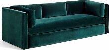 Hay Hackney Sofa 3-Sitzer Sofa Lola Dunkelgrün