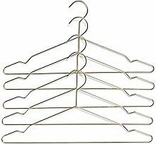 HAY Hang Kleiderbügel 5er Set, messing 5 Stück