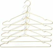 HAY - Hang Kleiderbügel, soft yellow (5er-Set)