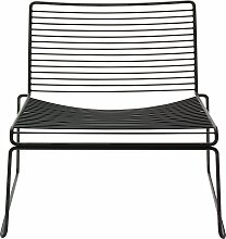 Hay Hee Lounge Chair Loungesessel Schwarz Fauteuil