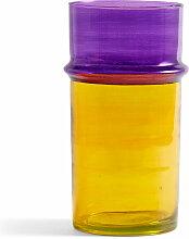 Hay - Marokkanische Vase L, gelb