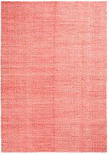 Hay - Moiré Kelim Teppich, 140 x 200 cm, coral