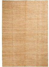 HAY - Moiré Kelim Teppich 140 x 200 cm, gelb