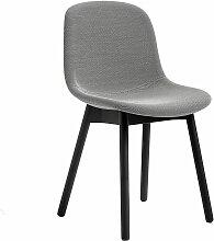 Hay Neu Chair Stuhl Gepolstert Steelcut Trio Grau