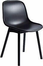 Hay Neu Chair Stuhl Mit Schwarzem Untergestell (b)