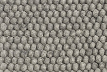HAY - Peas Teppich - 80 x 140 cm - medium grey -