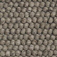 HAY Peas Teppich, dunkelgrau 80x140cm