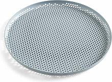 Hay - Perforated Tray L, dusty blau