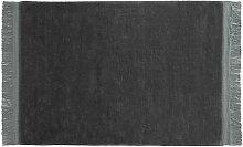 Hay - Raw Teppich 170 x 240 cm, anthrazit