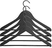 HAY Soft Coat Hanger Kleiderbügel 4er Set, Holz,