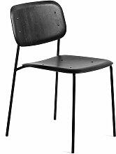 Hay - Soft Edge 10 Stuhl, schwarz