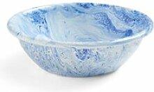 HAY - Soft Ice Schale Ø 21 cm, blau