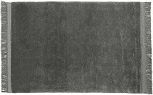 HAY Teppich Raw grau, Designer HAY Studio, 0x170x0