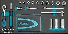 Hazet Steckschlüssel- und Bit-Satz, Anzahl Werkzeuge: 55, 1 Stück, 163-423/55