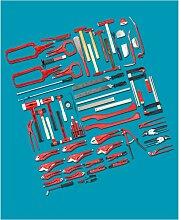 Hazet Werkzeug Sortiment, Anzahl Werkzeuge: 65