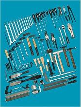 Hazet Werkzeug Sortiment, Anzahl Werkzeuge: 77