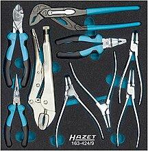 Hazet Zangen-Satz, Anzahl Werkzeuge: 9, 1 Stück, 163-424/9