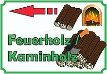 HB_Druck Verkaufsschild Feuerholz links A4